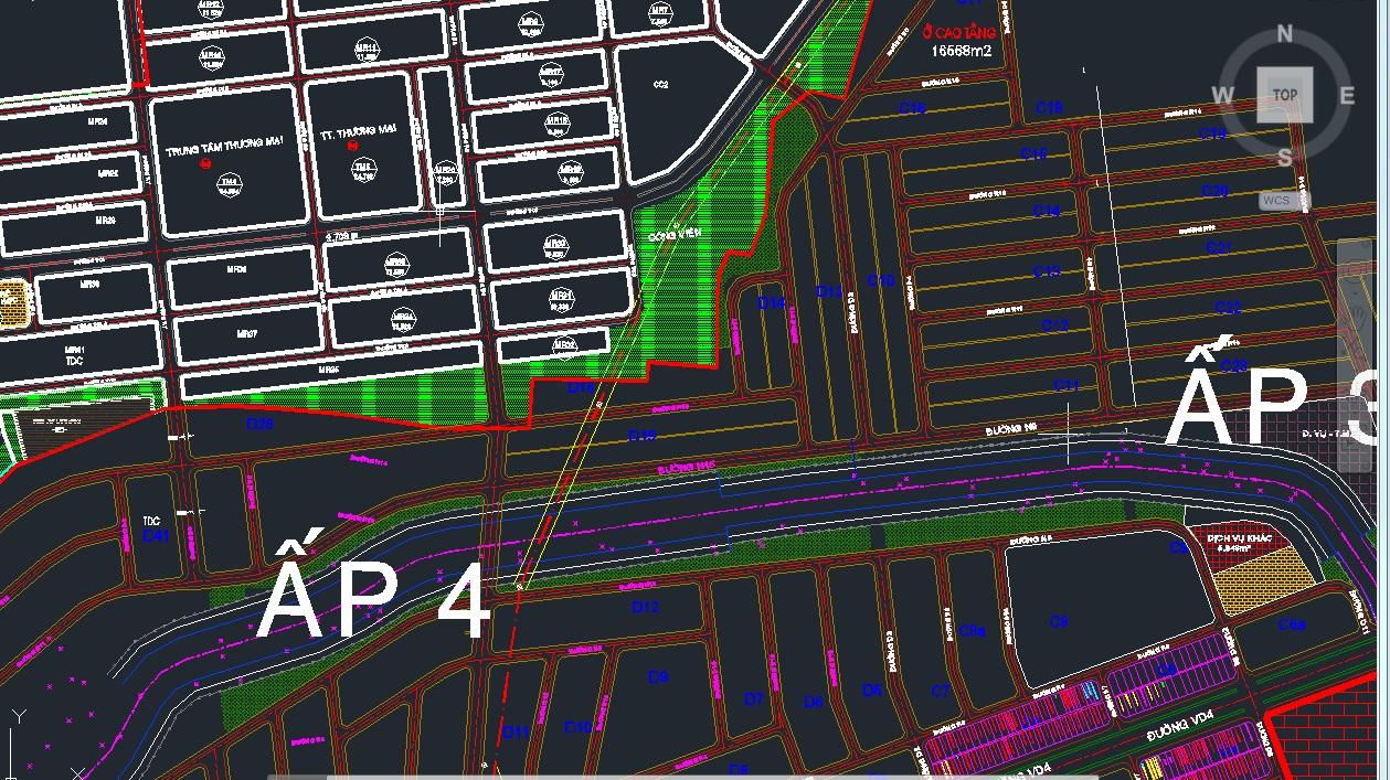 bản đồ quy hoạch mỹ phước 4 ẤP 3-4C