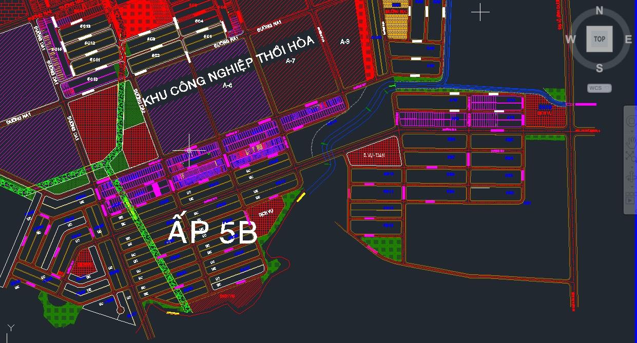 bản đồ quy hoạch mỹ phước 4 KHU 5B