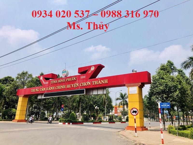 Bán đất nền dự án Phát Hưng Minh Long Chơn Thành Bình Phước