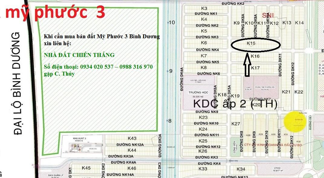 Lô K15 Mỹ Phước 3