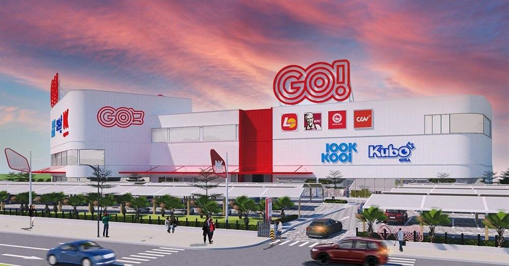 trung tâm thương mại Go tại Mỹ Phước 3 Bình Dương