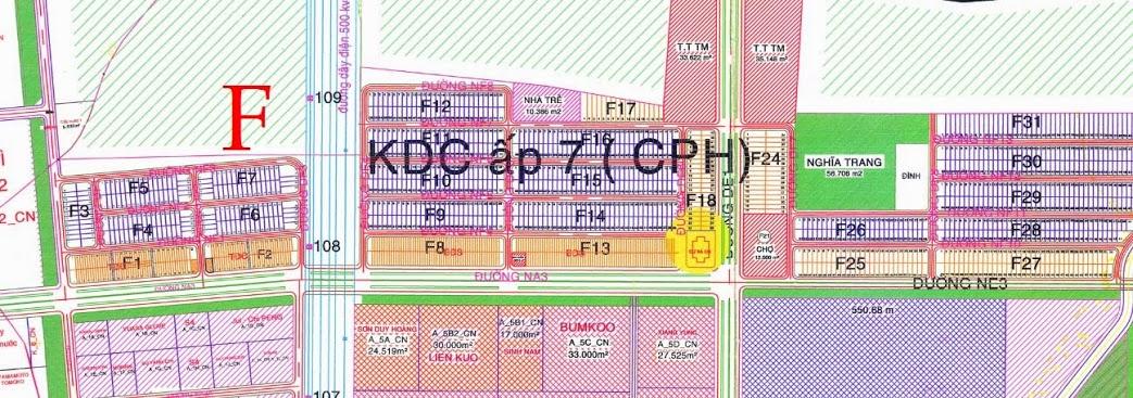 Khu f khu đô thị công nghiệp Mỹ Phước 3 Bình Dương