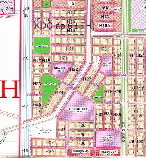 Khu h khu đô thị công nghiệp Mỹ Phước 3 Bình Dương