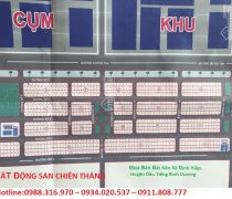 khu tái Định cư xã Định Hiệp, Huyện Dầu Tiếng, tỉnh Bình Dương