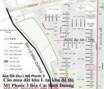 Cần mua đất khu L tại khu đô thị Mỹ Phước 3 Bến Cát Bình Dương
